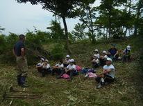 あさひ小学校(4年生)植樹体験