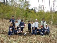 「花いっぱいの森づくり」あさひ(旧安楽城)小学校