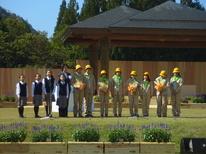 全国育樹祭が行われました。